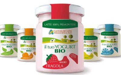 Centrale del latte di Alessandria lancia i nuovi yogurt bio. Amapola firma la campagna