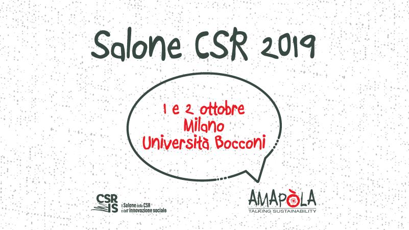 Amapola al salone CSR IS 2019