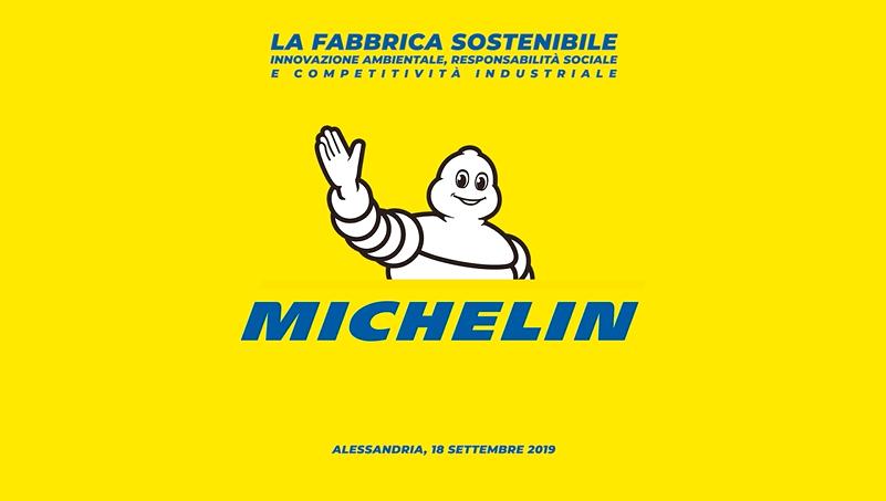"""Michelin Italia, Amapola firma l'evento """"La Fabbrica Sostenibile""""."""