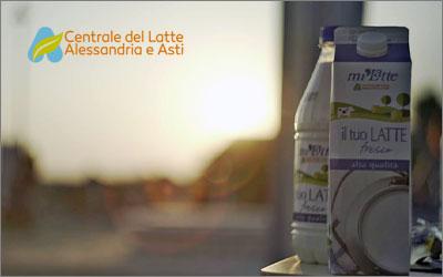 Centrale del Latte di Alessandria e AstiBrand identity