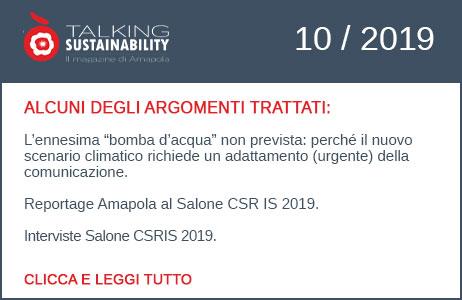 newsletter sostenibilità Amapola