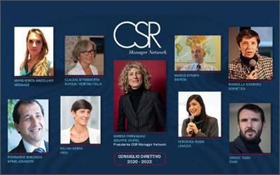 Presidenza del CSR Manager Network: in video il passaggio di testimone