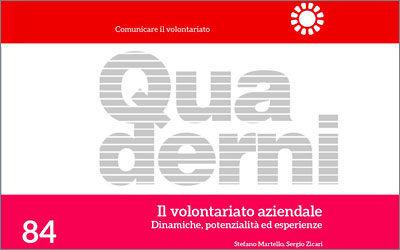 Il volontariato aziendale come opportunità: Elena Rossi di Amapola tra i collaboratori della nuova pubblicazione edita dal Cesvot.