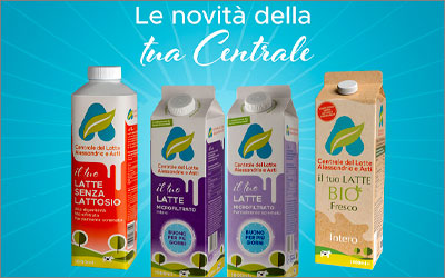 Centrale del Latte di Alessandria e AstiPackaging desing and Advertising