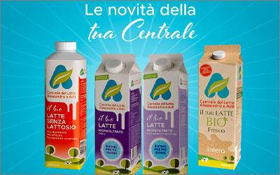 Centrale del Latte di Alessandria e AstiPackaging desing e Advertising