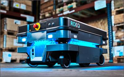 Un carrello Roeq, nuovo cliente Amapola